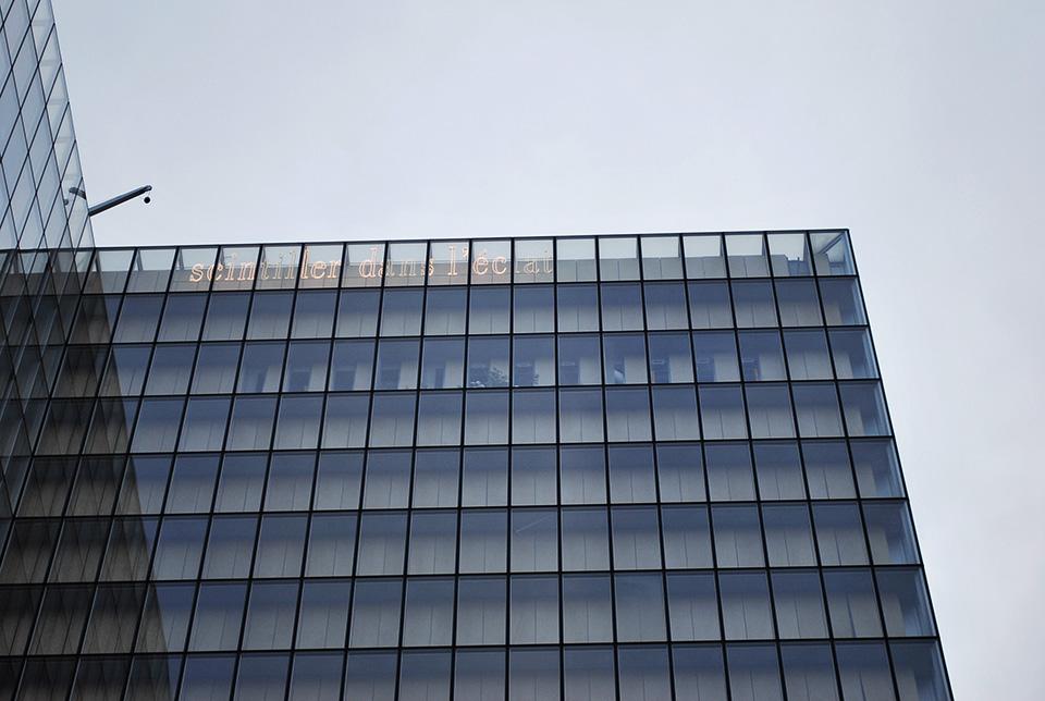detail facade bnf