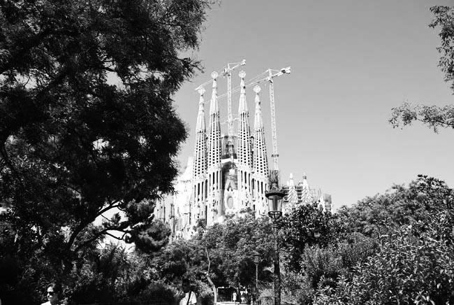barcelona sagrada familia 1