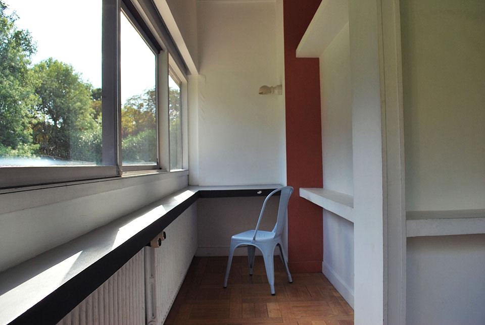 villa savoye chambre