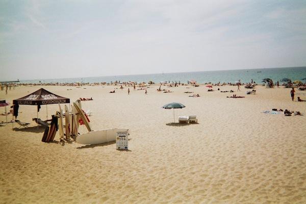 plage centrale hossegor