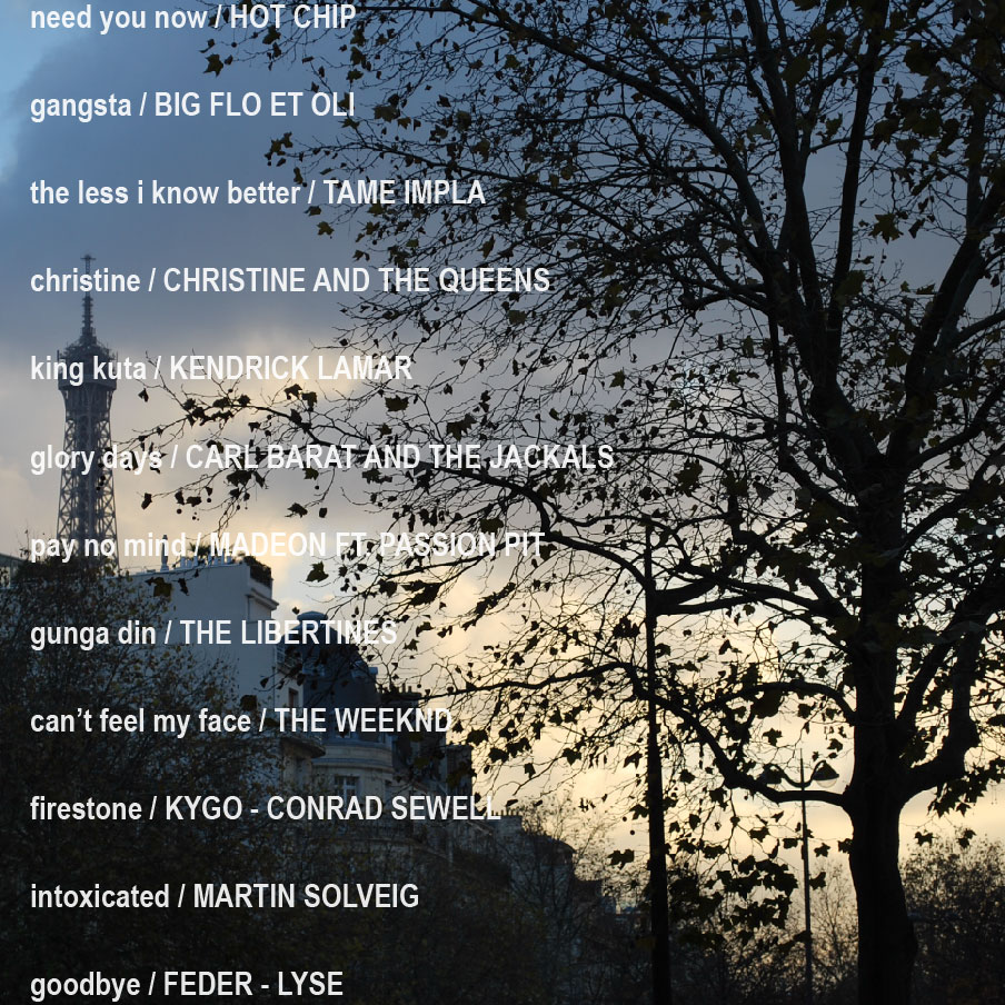playlist 2015