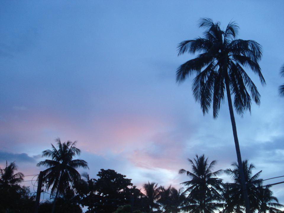 thailande coucher de soleil