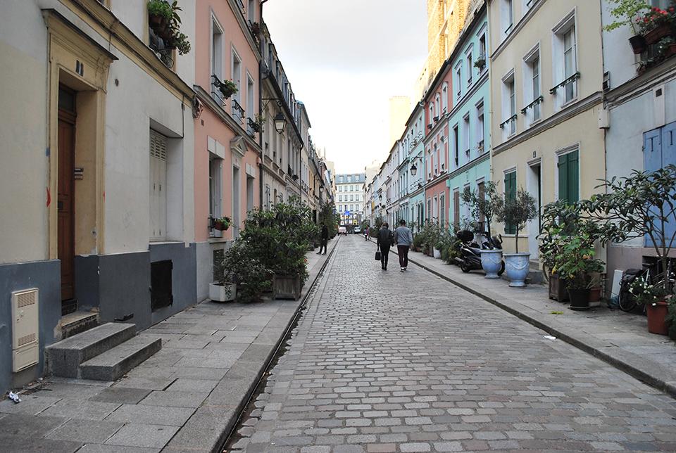 rue cremieux pavee