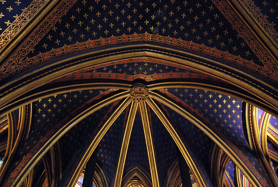 plafond sainte chapelle