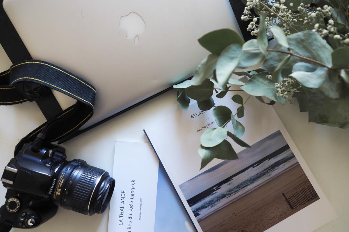 créer un livre photo blurb
