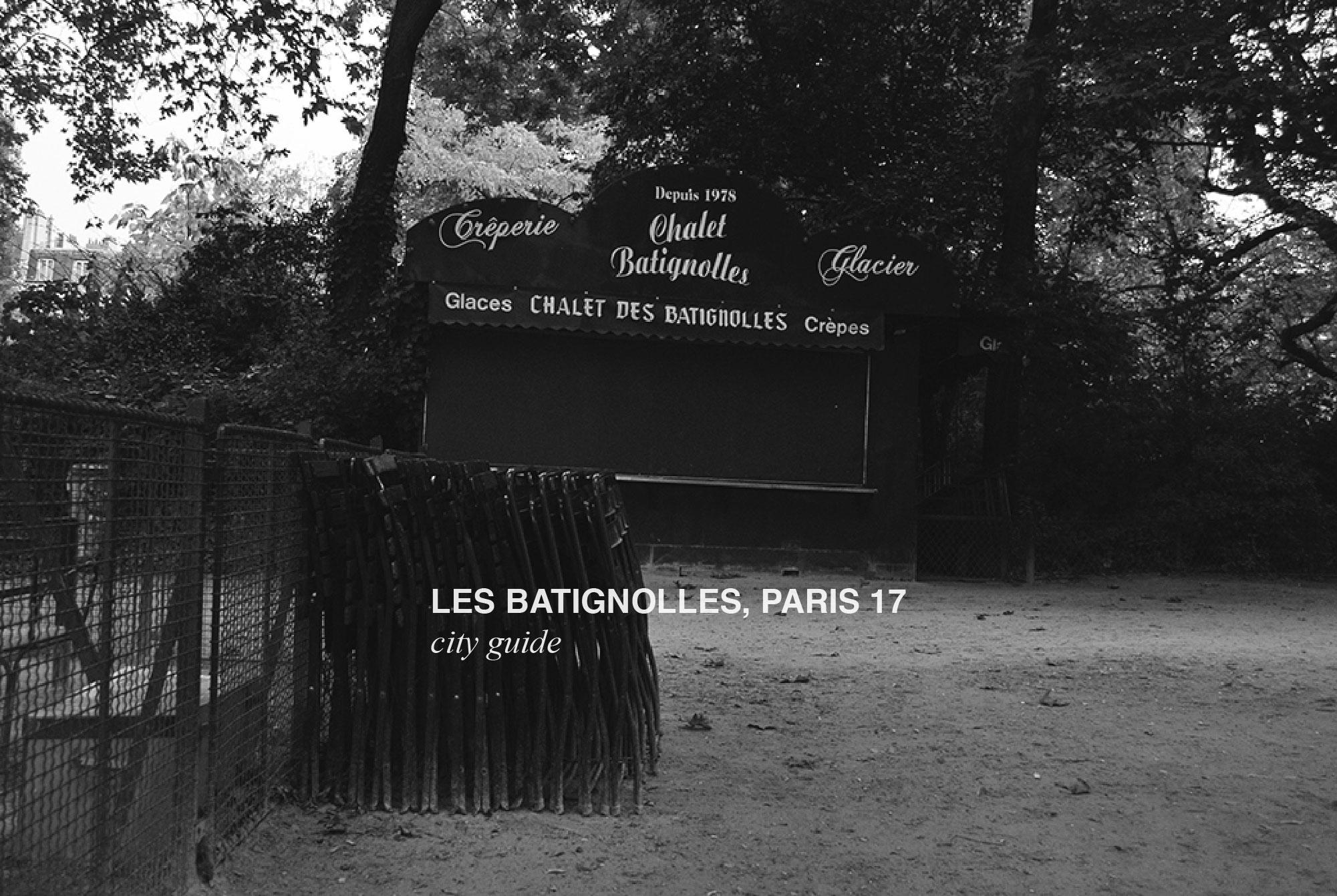 city guide batignolles paris