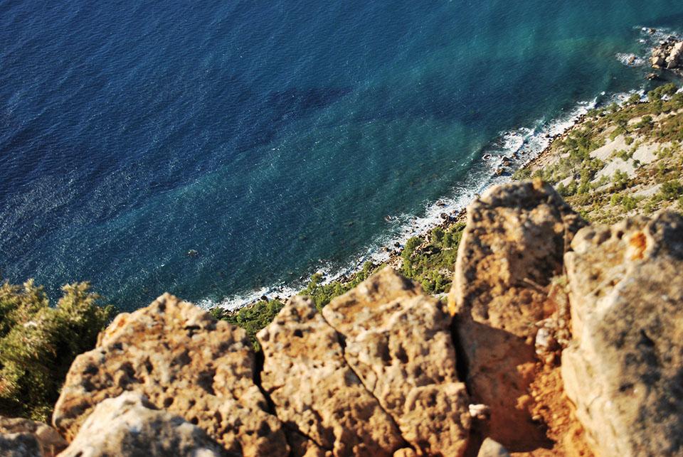 route des cretes vertige