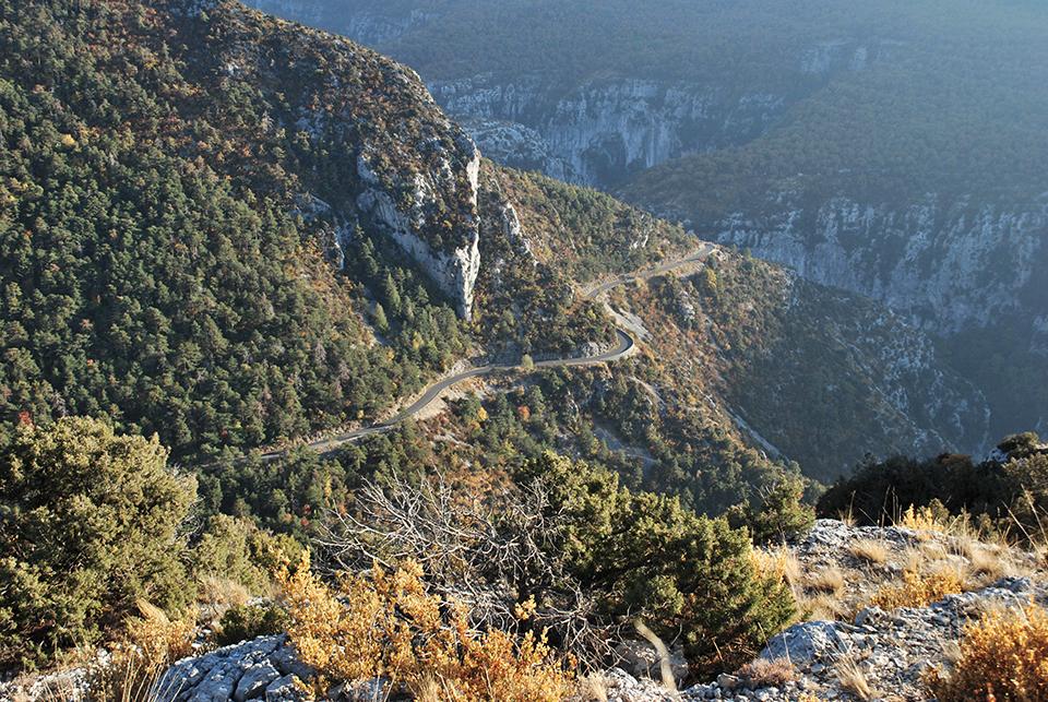 route des cretes verdon
