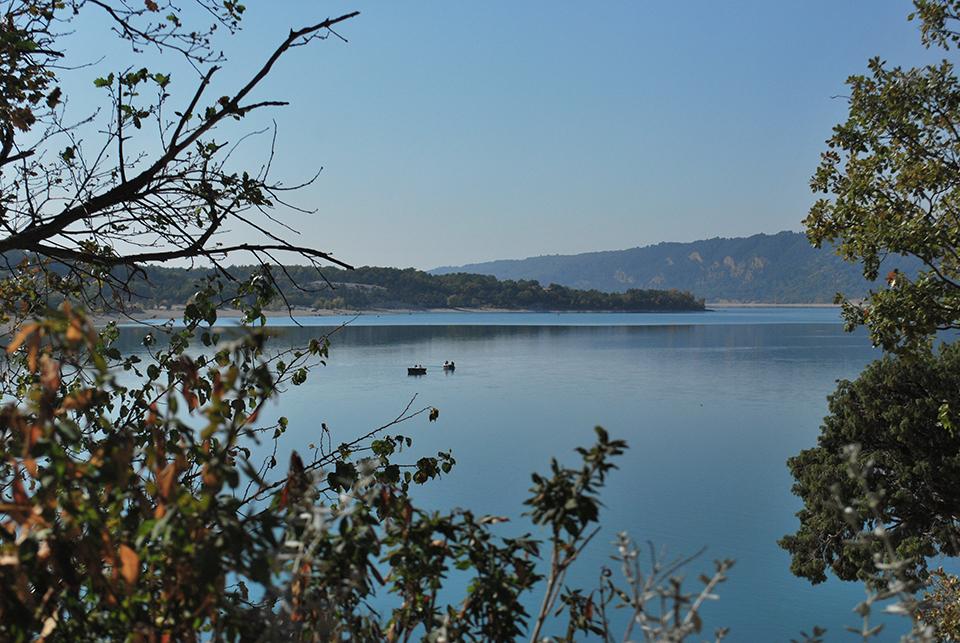 lac sainte croix moustiers