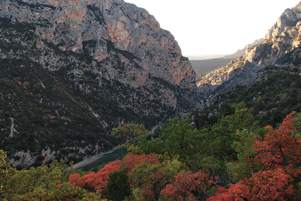 gorges verdon automne