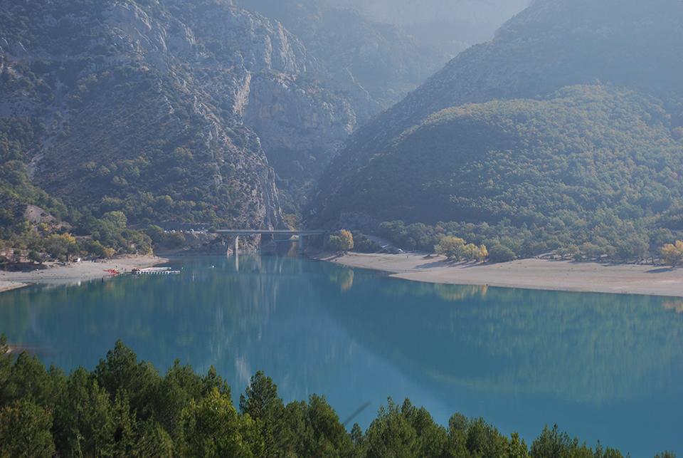 lac sainte croix verdon automne