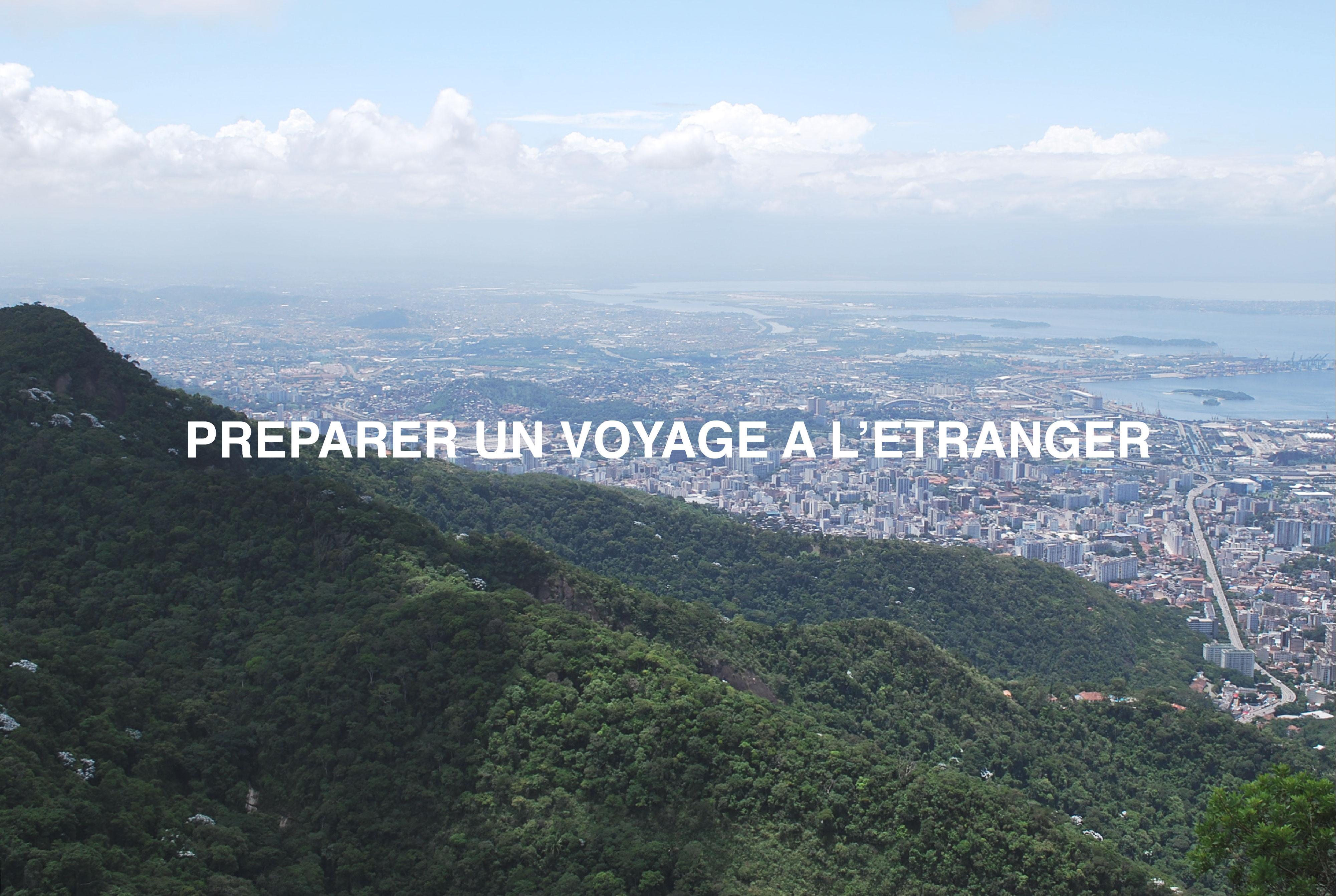 preparer un voyage a l etranger