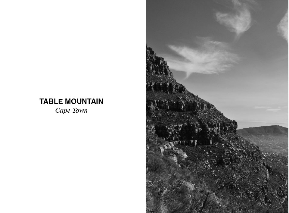 table moutain cape town