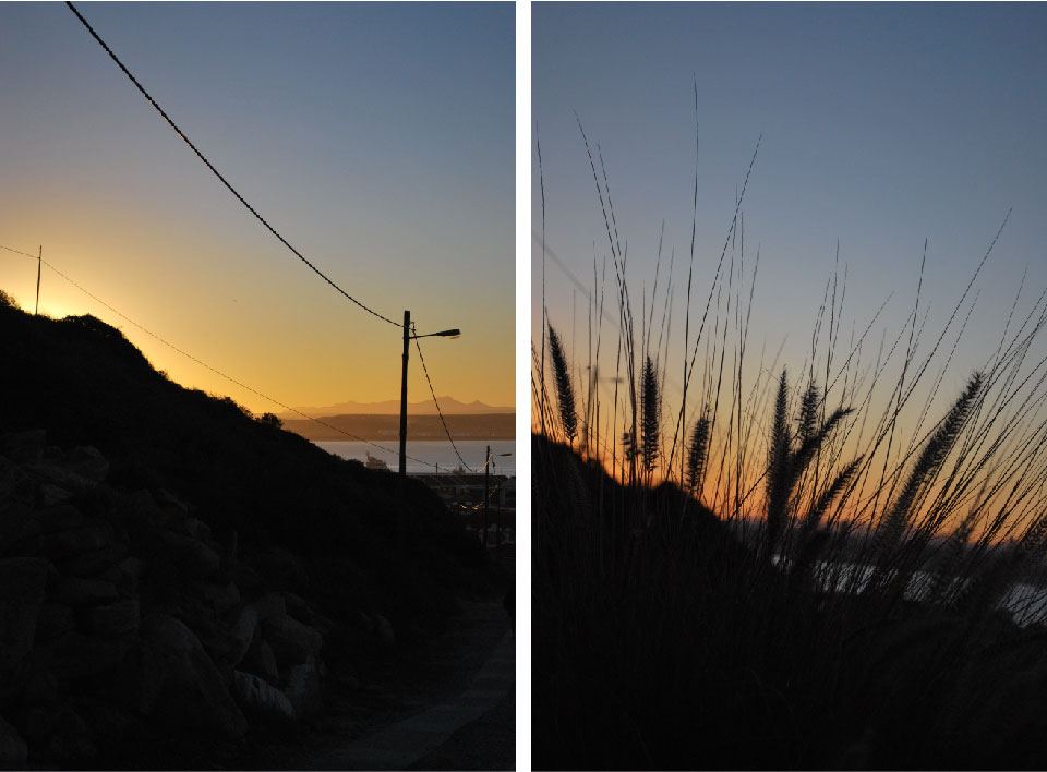 mossel bay sunset