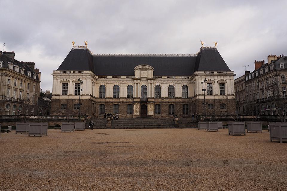 visiter rennes parlement de bretagne