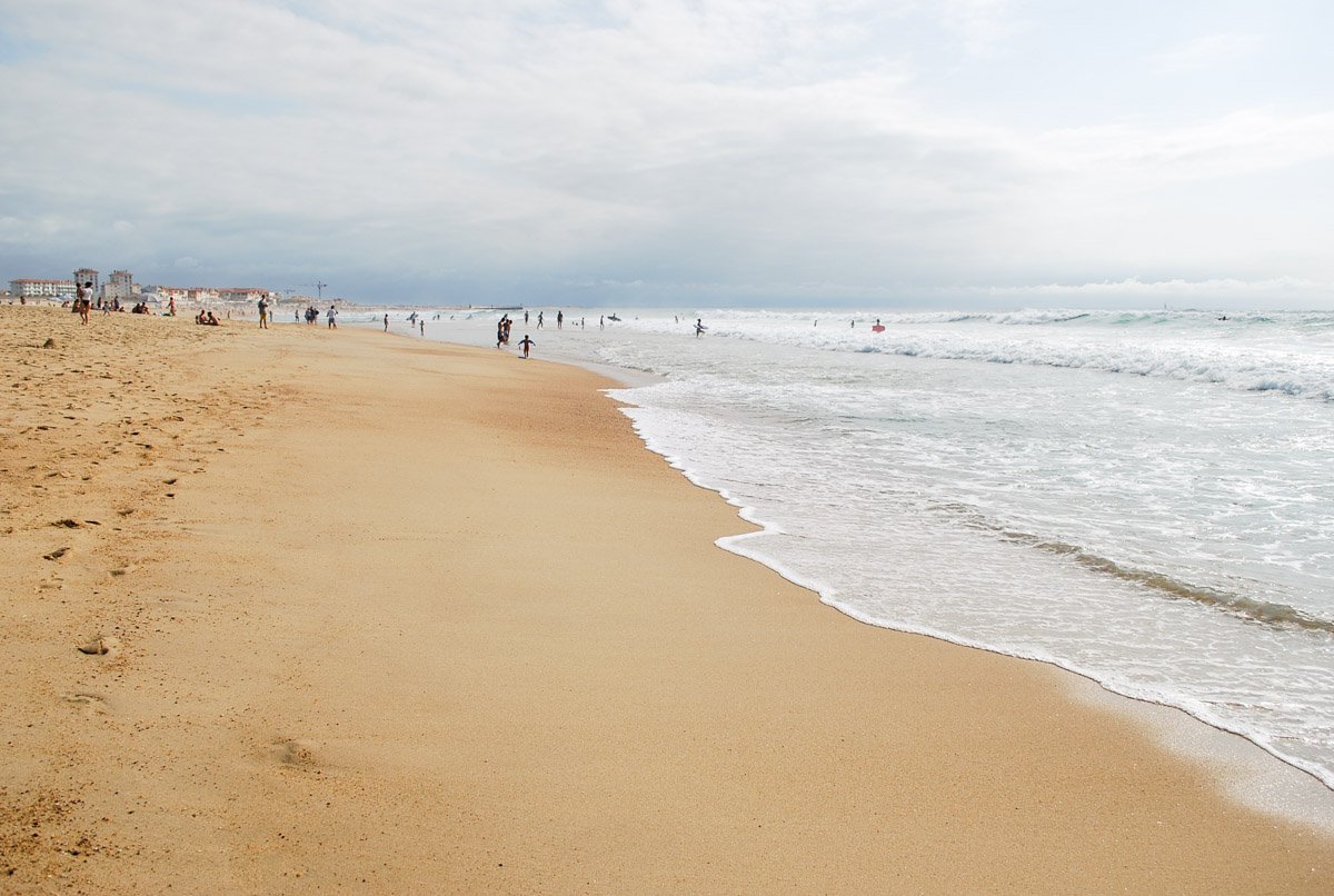 hossegor plage centrale
