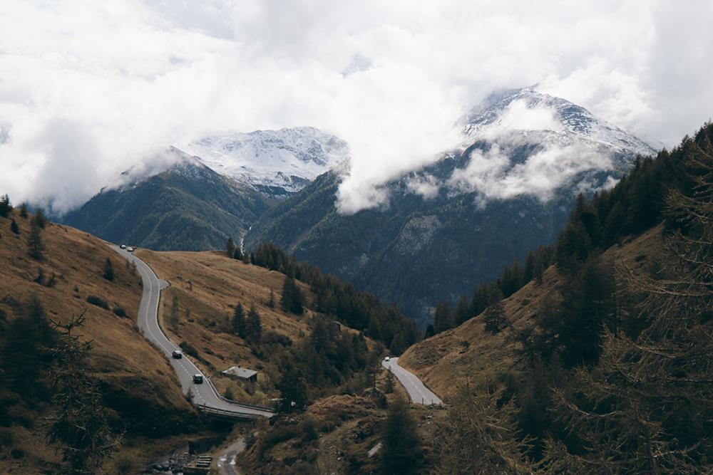 route alpes autriche