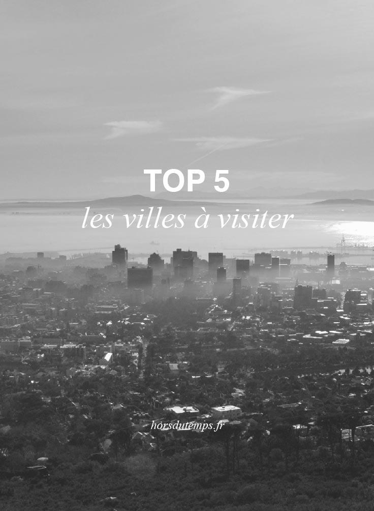 pinterest top 5 villes à visiter