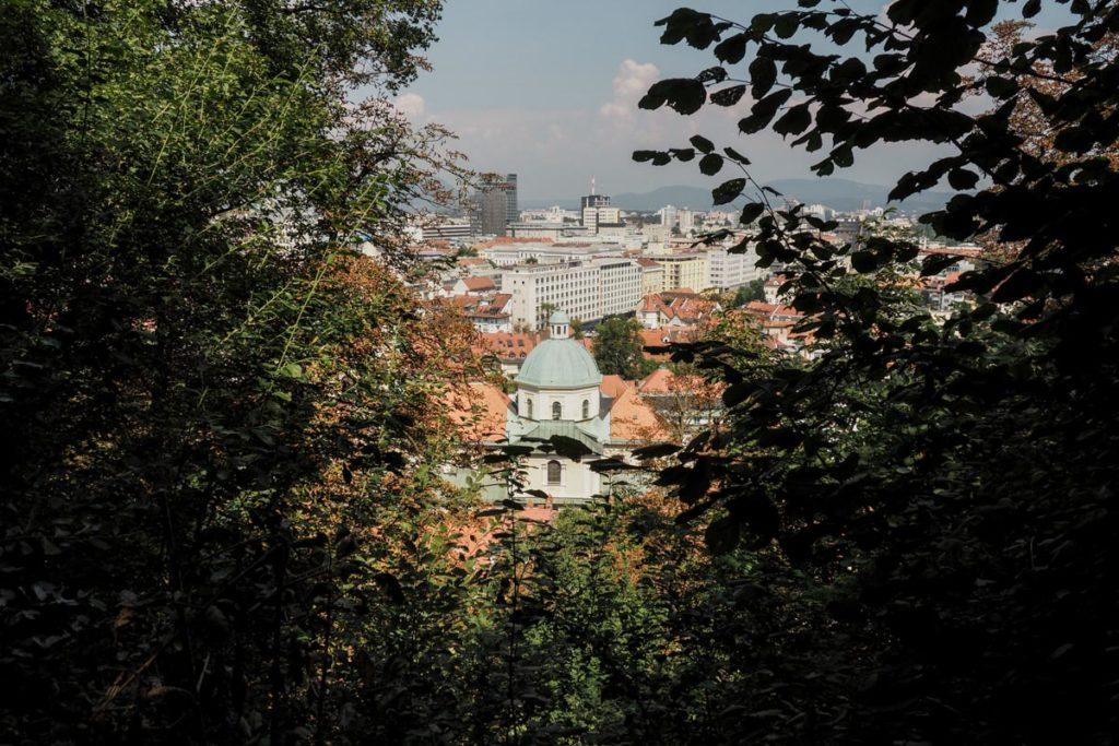 vue capitale slovénie