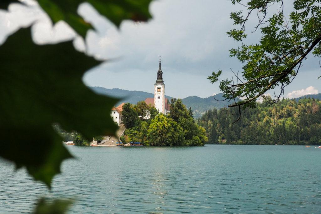 ile lac de bled slovenie