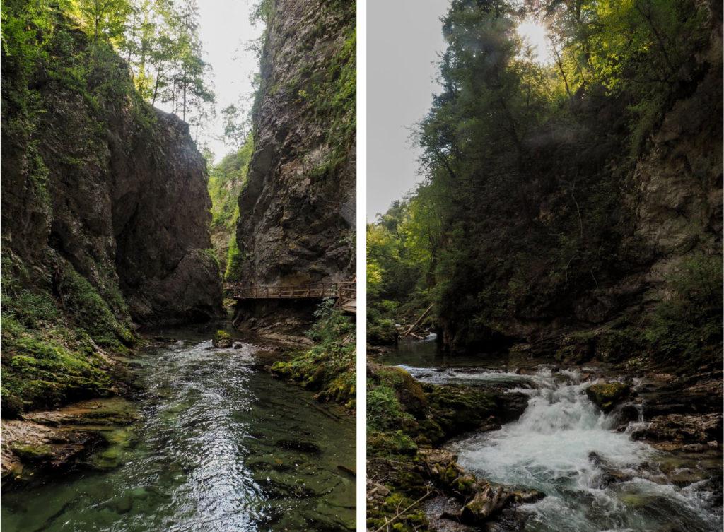 eaux gorges slovénie