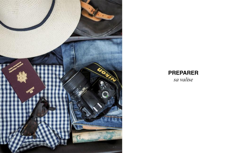 préparer sa valise city-trip