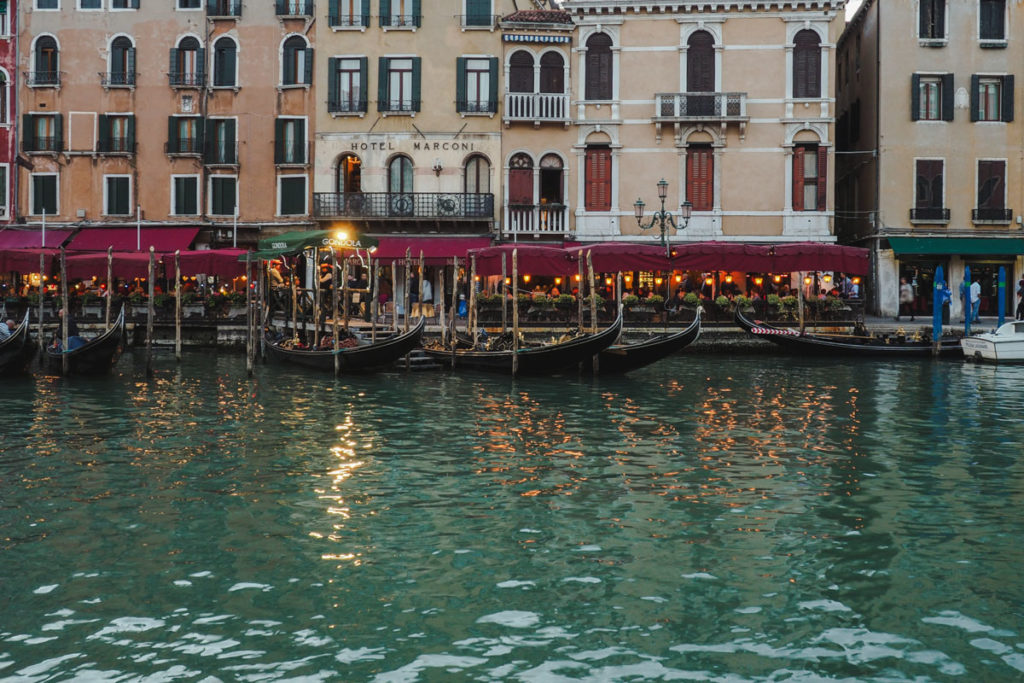 venise honeymoon