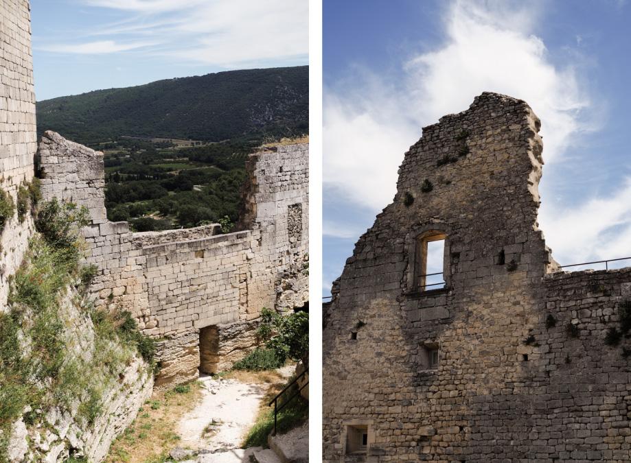 Lacoste chateau marquis de Sade