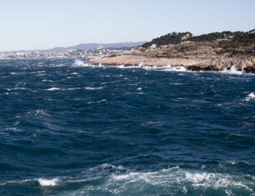 Marseille depuis les Goudes